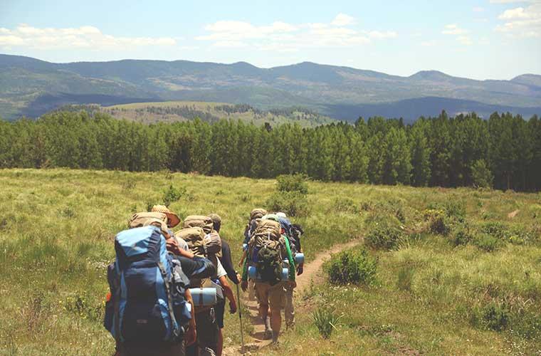 Cómo debes entrenar para el senderismo de gran recorrido / Foto: Austin Ban