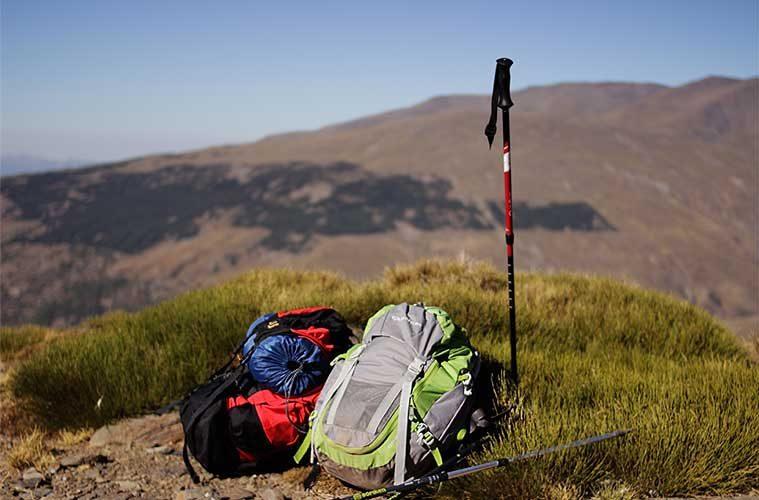 Largura de los bastones de trekking