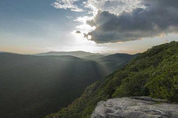 Senderismo por las montañas Apalaches