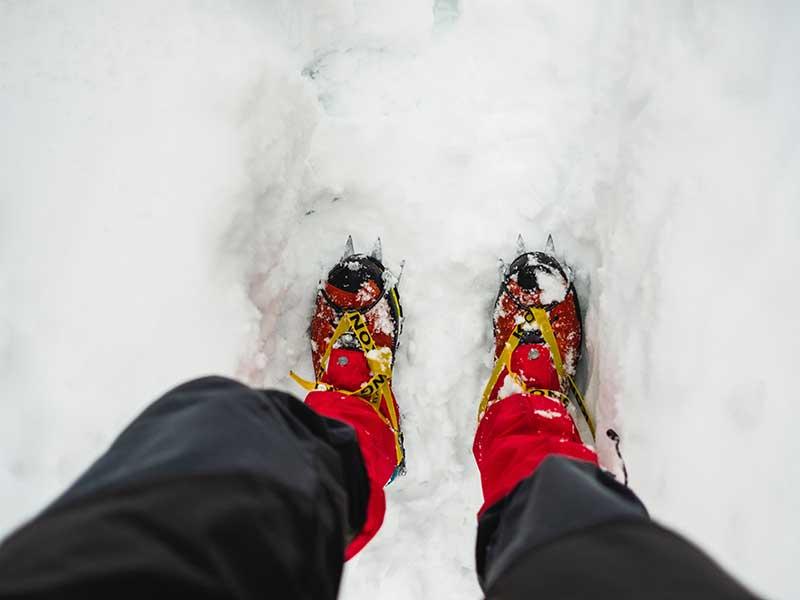 Ropa de montaña. Calzado / Foto: Nicole Nessi