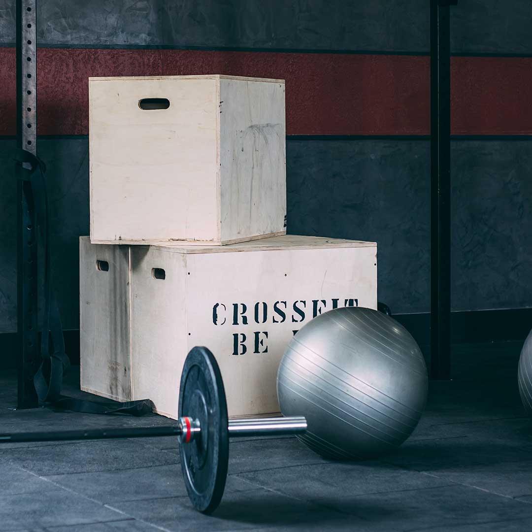 Equipamiento ejercicios gimnasio / Foto: Gustavo Scafeli