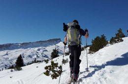 Entrenamiento para el esquí de montaña / Foto: Simon