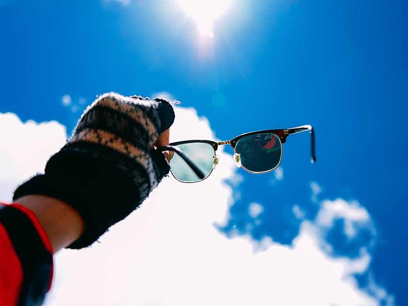 Gafas para la montaña: Filtros solares / Foto: Chinh le Duc