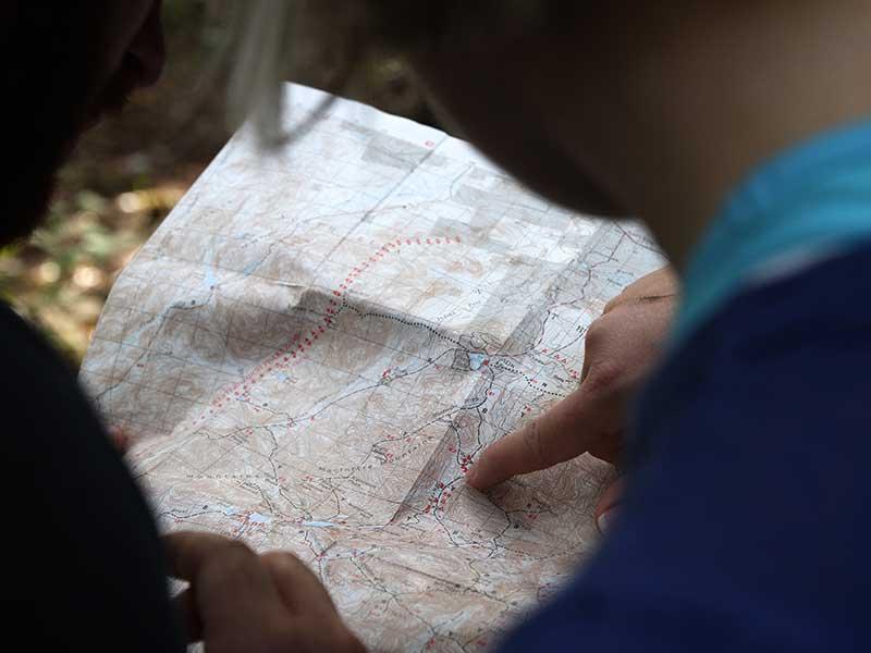 Información de valoración: complejidad del itinerario / Foto: Jean Frederic Fortier