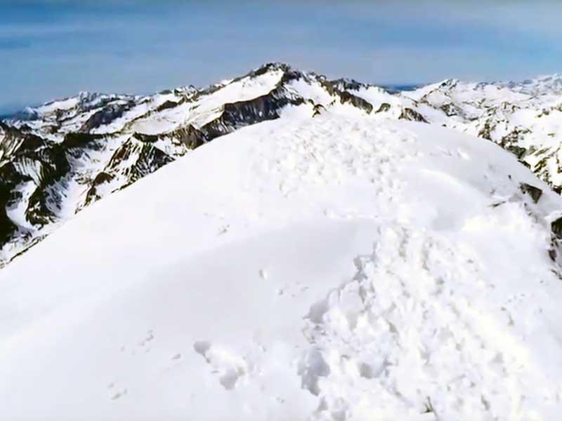 Invernal al Pico Perdiguero