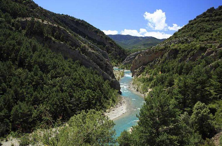 Río Ara. Sobrarbe / Foto: Falk2 [CC-BY-SA-4.0]