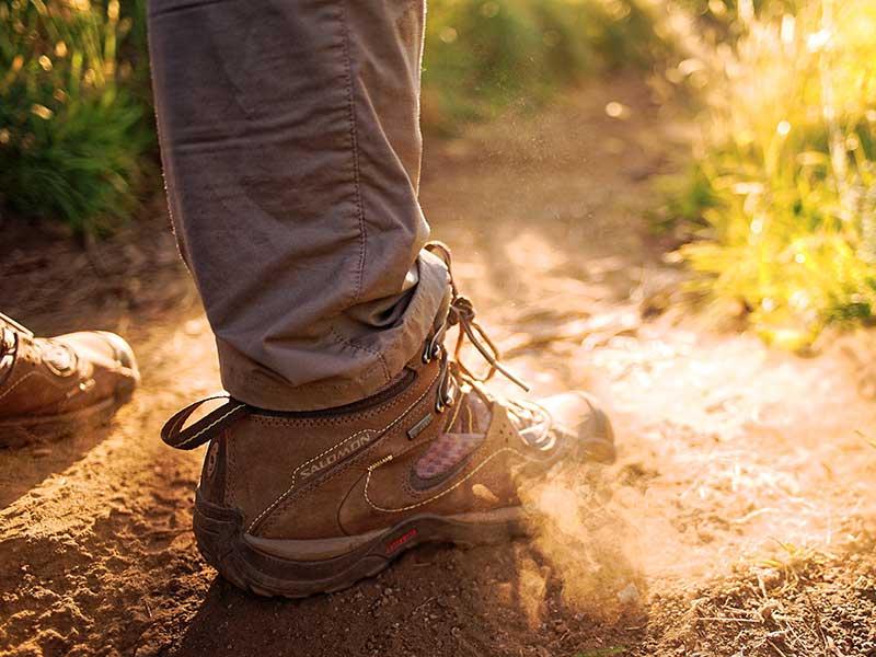 Cómo elegir la talla de tu calzado de montaña / Foto: Fidel Fernando