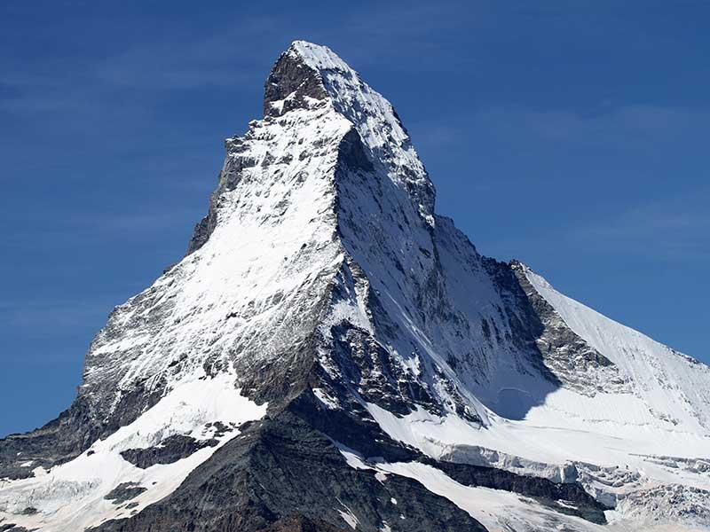 Vista del Matterhorn / Foto: violetta CC0 (Pixabay)