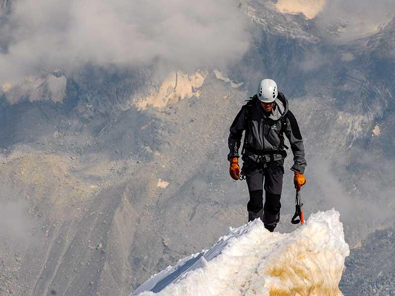 Autodetección en montaña / Foto: Wynand Van Poortvliet