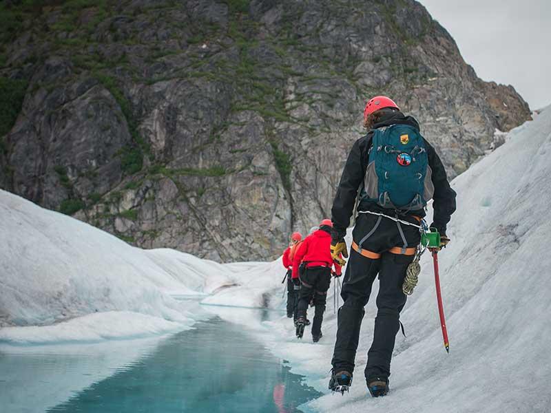 Autodetección en montaña / Foto: Steve Halama