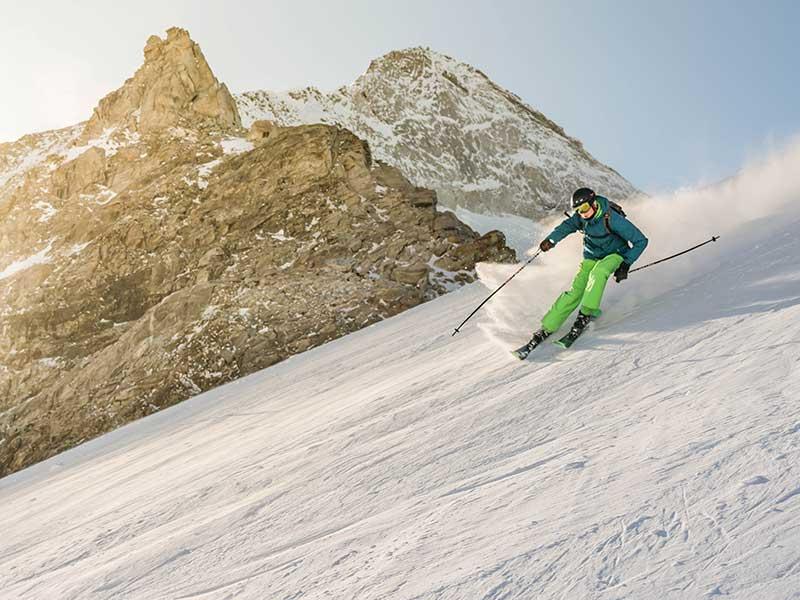 Cómo esquiar en nieve virgen / Foto: Willem de Meyer