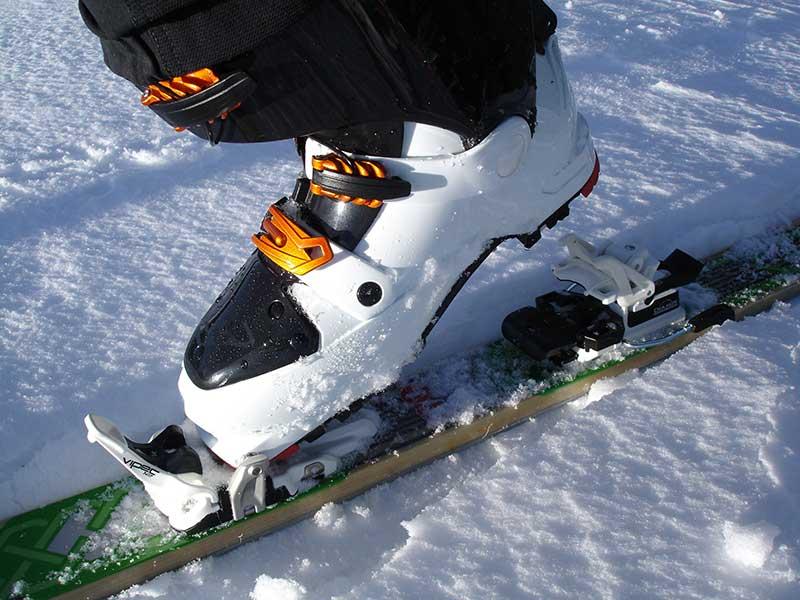 Fijaciones para esquí de travesía / Foto: Simon (Pixabay)