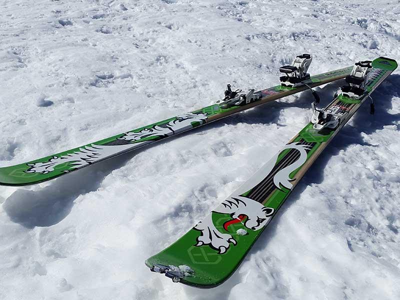 Tablas de esquí de travesía / Foto: Simon (Pixabay)