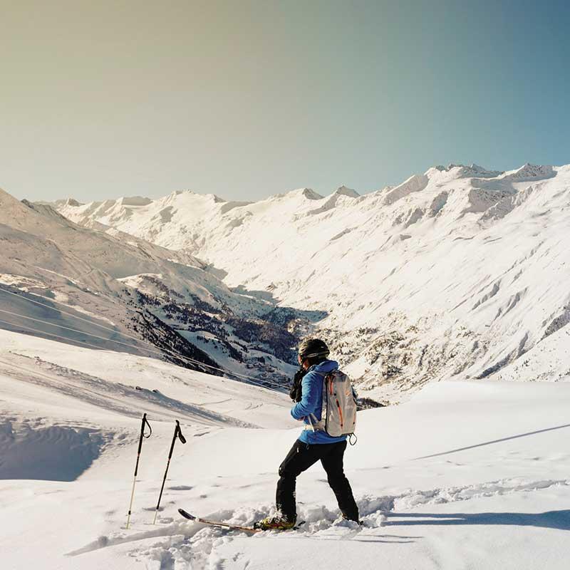 Tipo de esquí que practicamos / Foto: Giuliano Maderner