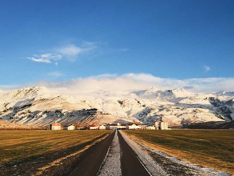 Eyjafjallajokull, Iceland / Foto:  Tory Doughty (unsplash)