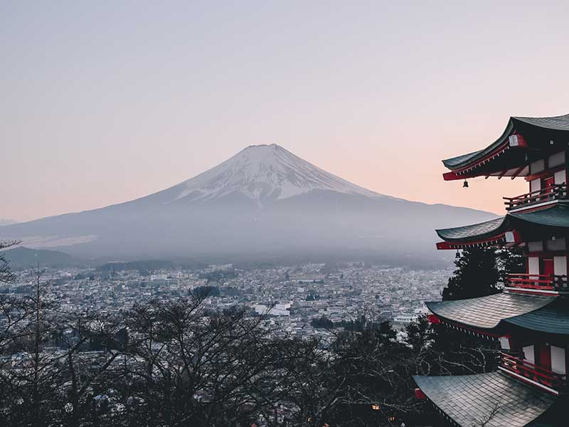 Mount Fuji, Japón / Foto: Manuel Cosentino (unsplash)