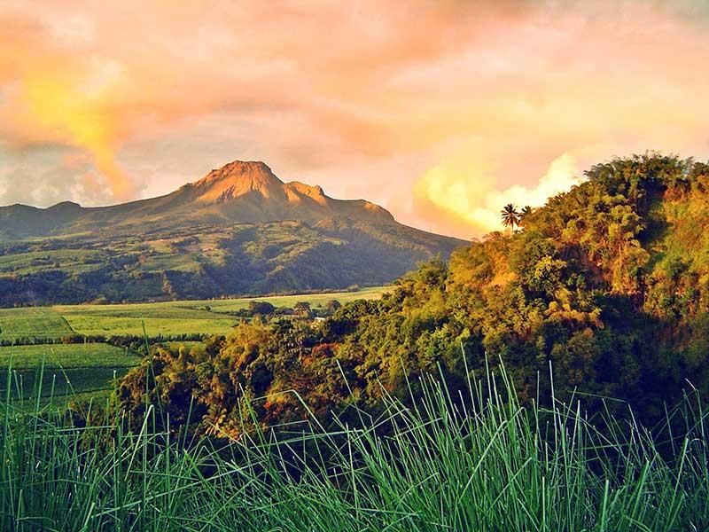 Monte Pelée / Foto: Eugénie Peigné [CC-BY-SA-3.0] vía Wikimedia Commons