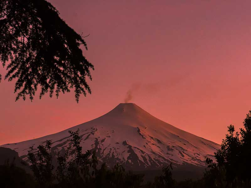 Volcán Villarica, Pucon, Chile / Foto: Willian Justen de Vasconcellos (unsplash)