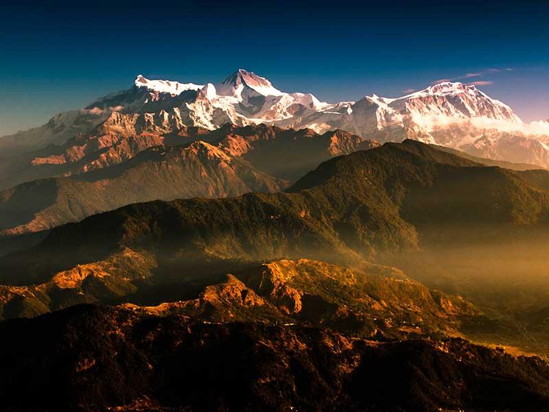 Trekking del Annapurna en Nepal  Foto: Ambir Tolang (unsplash)