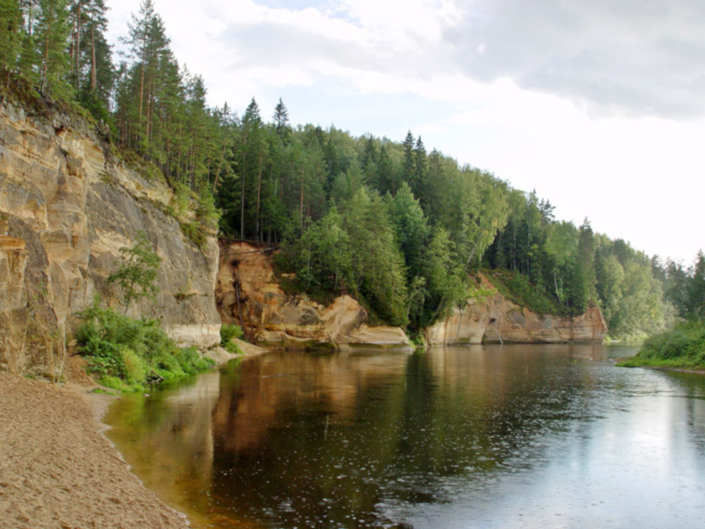 Parque nacional de Gauja, Letonia / Foto: Gatis Pāvils (Wikimedia Commons)