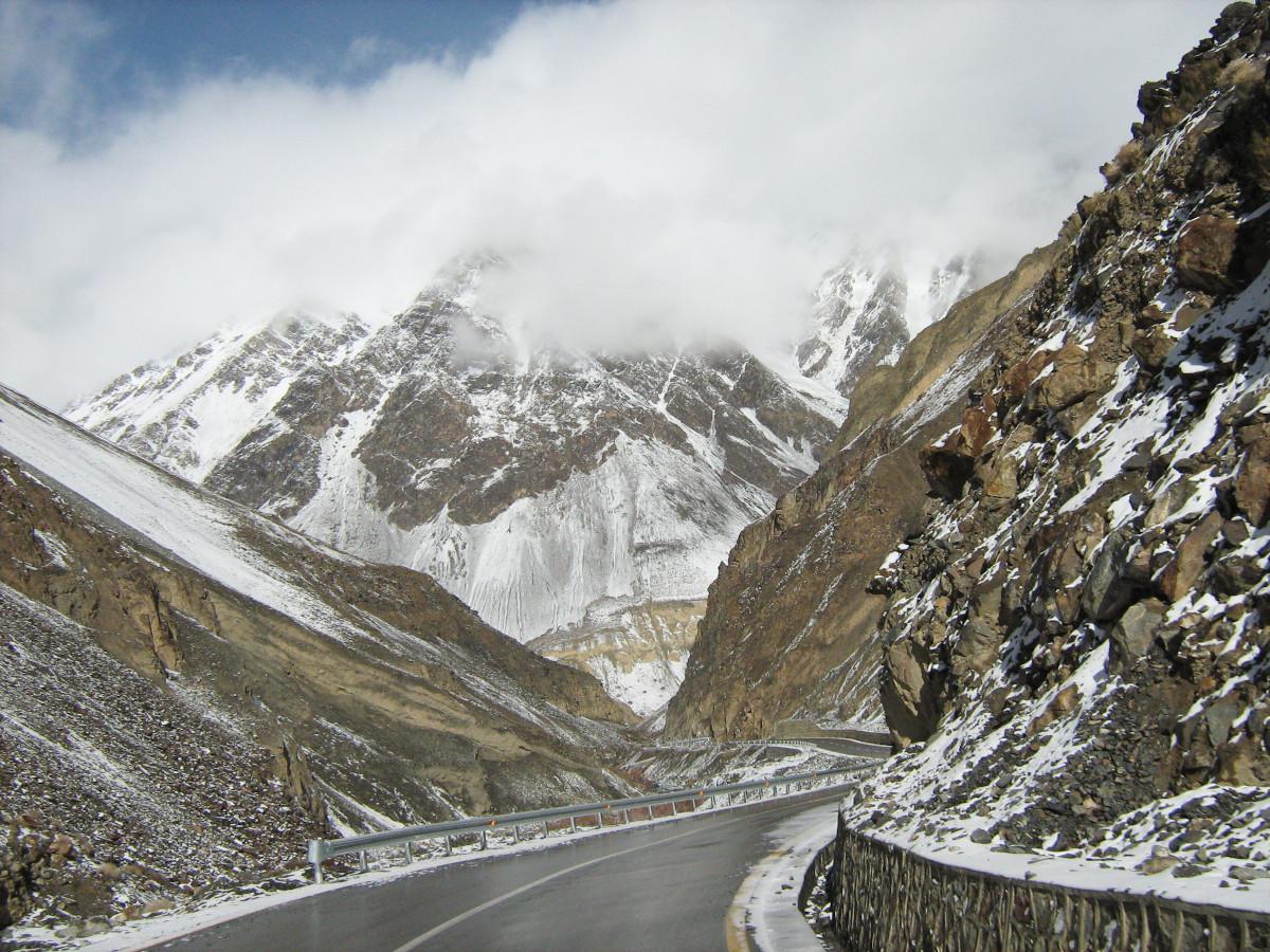 Carretera Karakorum Khunjerab Pass. / Foto: Suleman.Akbar.ali, (CC BY-SA) Wikimedia Commons