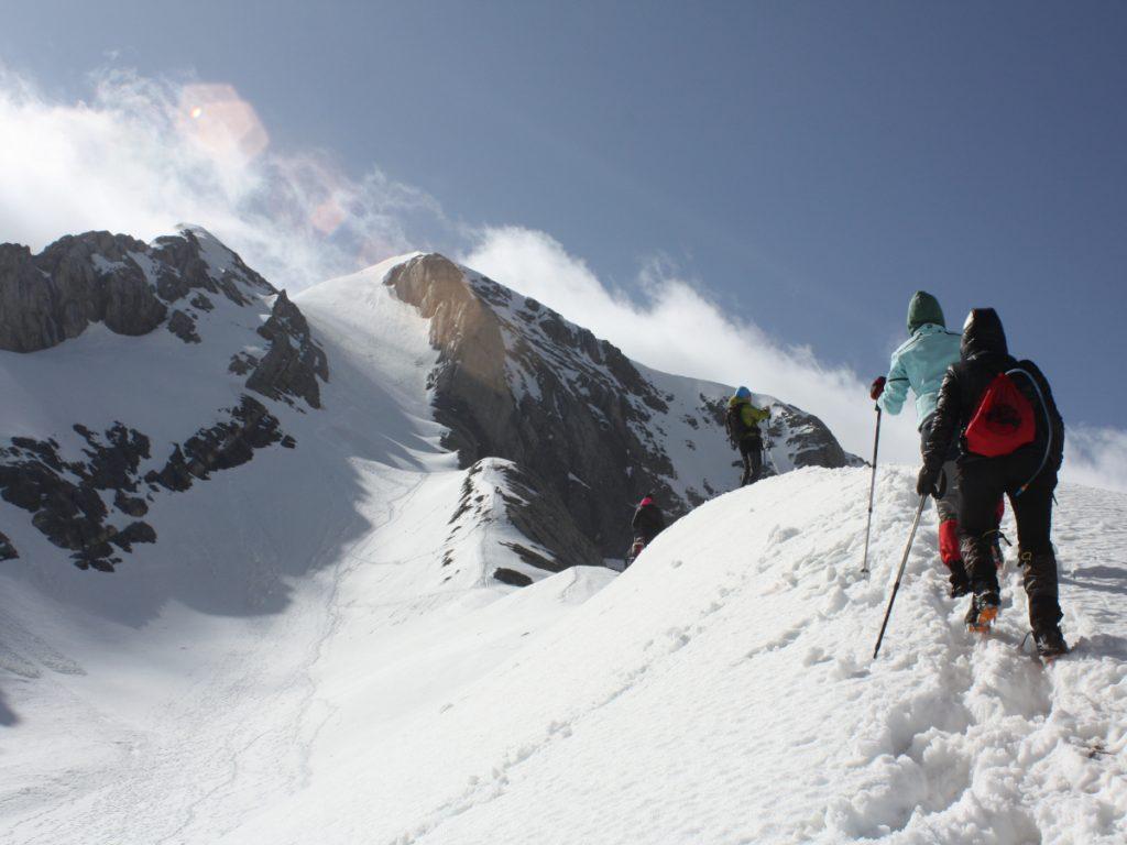 Monte Perdido desde el Lago Helado. Foto: Eduardo Azcona