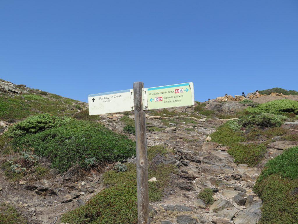 Ruta a Cova de s'Infern, Punta Cap de Creus. / Foto: Eduardo Azcona